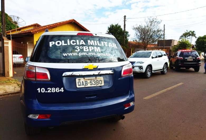 Veículo foi localizado, mas está sem a chave - Crédito: Osvaldo Duarte/Dourados News