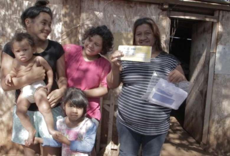 Dona de casa foi uma das primeiras contempladas pelo programa que atenderá cerca de 100 mil famílias em Mato Grosso do Sul - Crédito: Casa Brasil