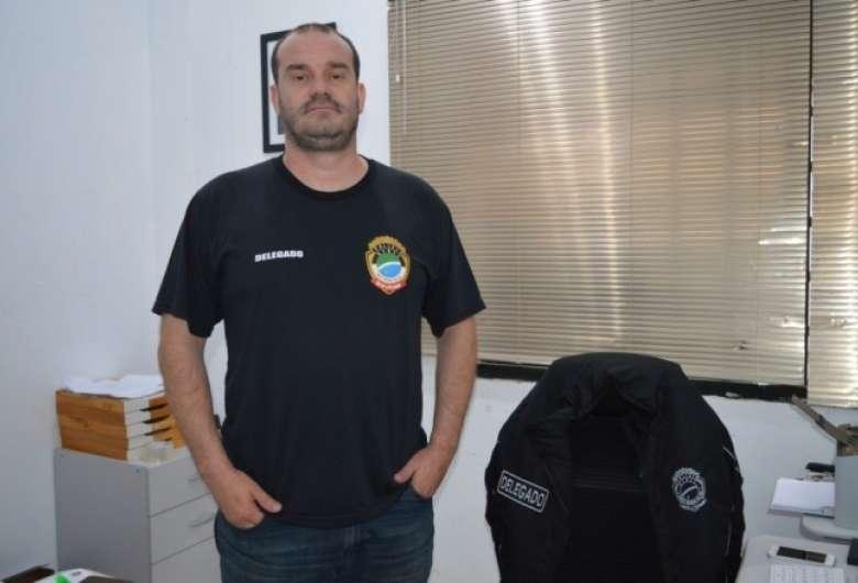Delegado Mikaill Alessandro Gouvea Faria, vítima de acidente de trânsito em maio, será homenageado denominando delegacia que comandou - Crédito: Divulgação