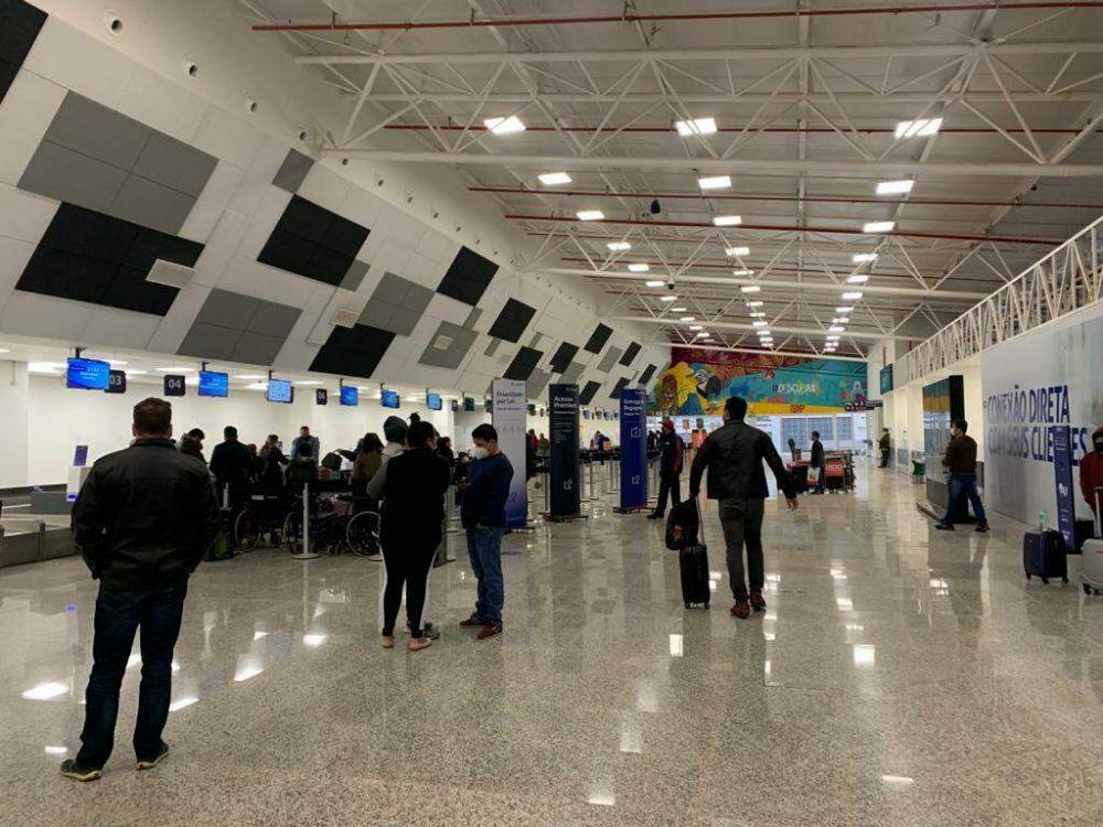 Saguão do Aeroporto Internacional de Campo Grande. (Foto: Arquivo)