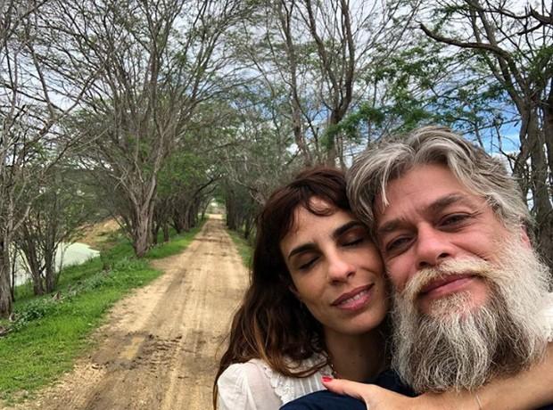 Fabio Assunção e Maria Ribeiro (Foto: Reprodução / Instagram)