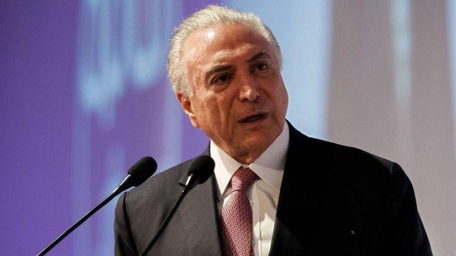 Michel Temer disse não ter medo de ser preso após deixar a Presidência / Foto: Marcos Corrêa / Presidência da República