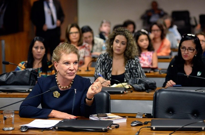 Marta Suplicy participa do debate da comissão mistaJefferson Rudy/Agência Senado