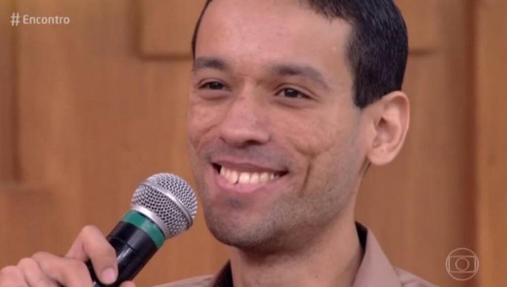 O professor Bruno Rafael Paiva. Foto: Reprodução de 'Encontro com Fátima Bernardes' (2018) / Globo