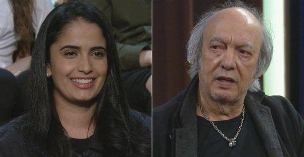 Fernanda Passos e Erasmo Carlos - Crédito: (Reprodução / Montagem)