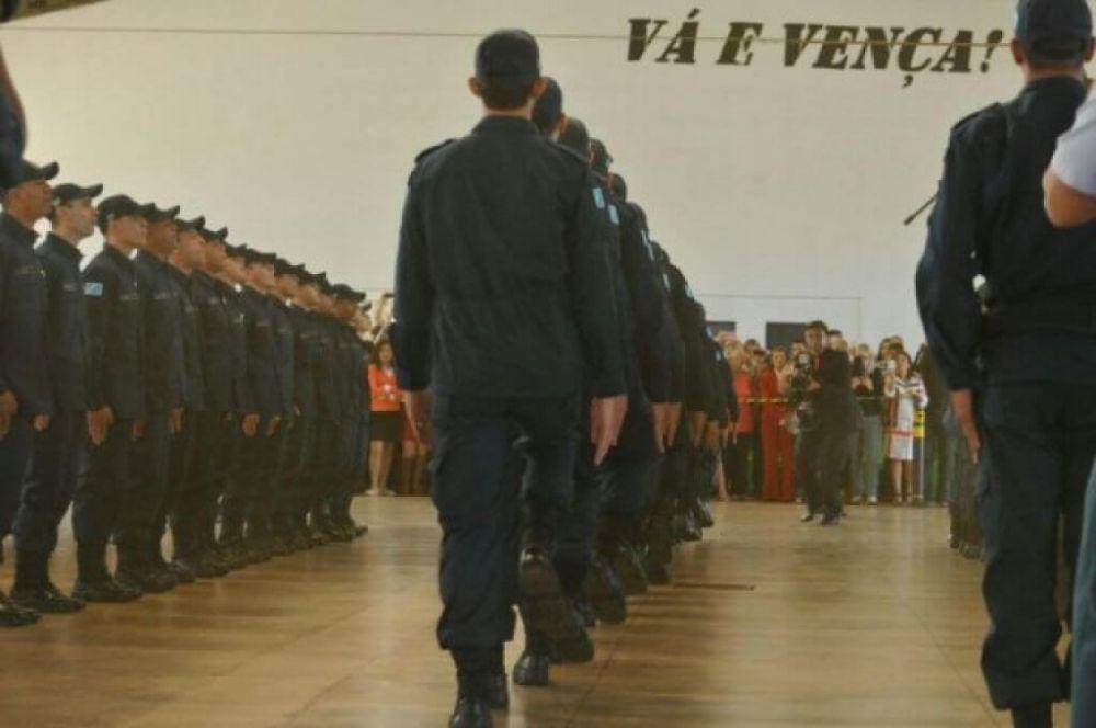 Concursos para policiais e bombeiros foram suspensos a pedido do MP. (Foto: Alcides Neto/Campo Grande News)
