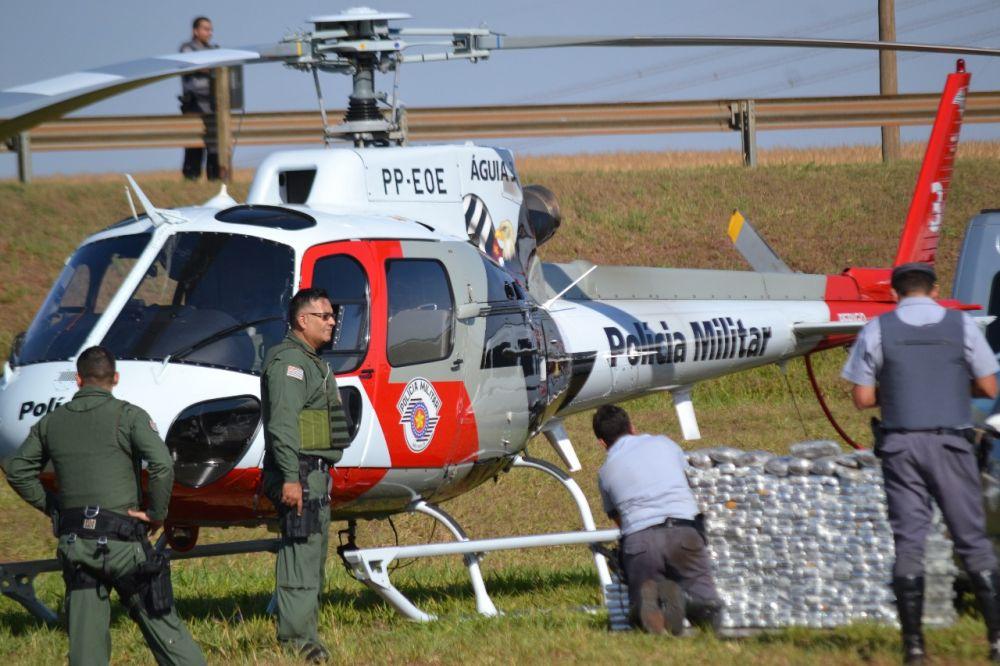 Abordagem aconteceu durante patrulha aérea sobre a rodovia - Crédito: The Brothers/Divulgação