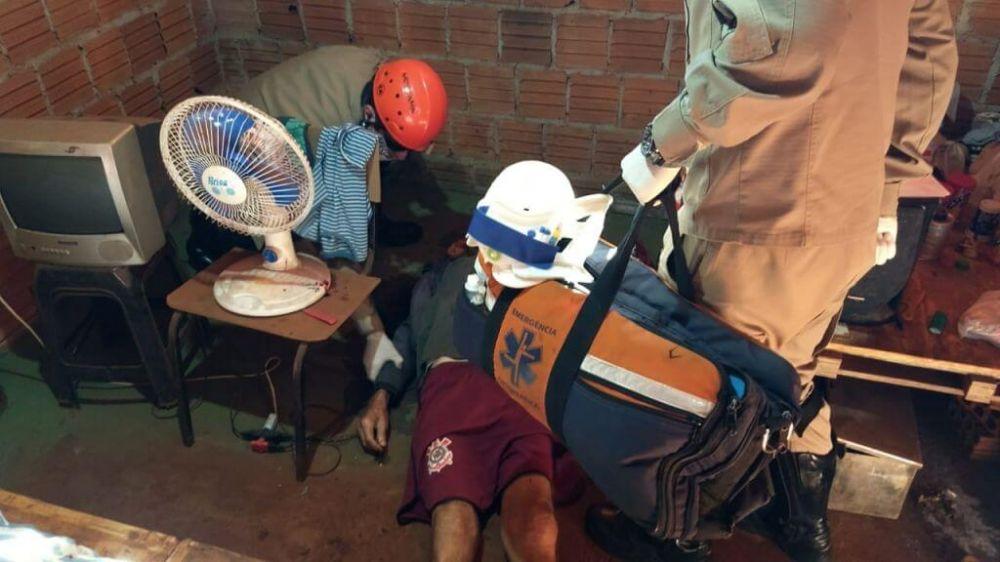 Possivelmente o crime aconteceu na noite de ontem ou na madrugada de hoje (Foto: Sidnei Bronka)