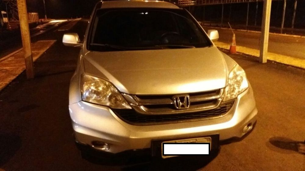 Um dos veículos furtados neste final de semana - Crédito: Divulgação