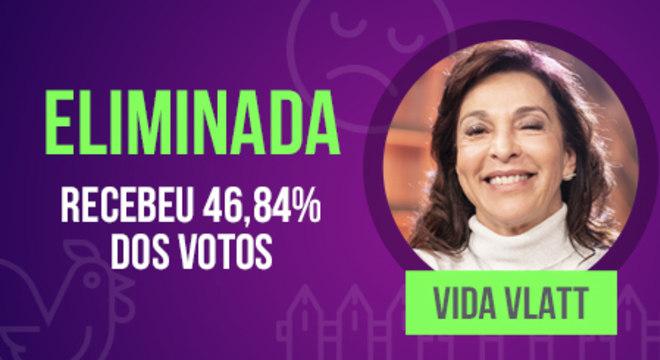 Vida Vlatt se despede de A Fazenda - Crédito: Divulgação/Record TV