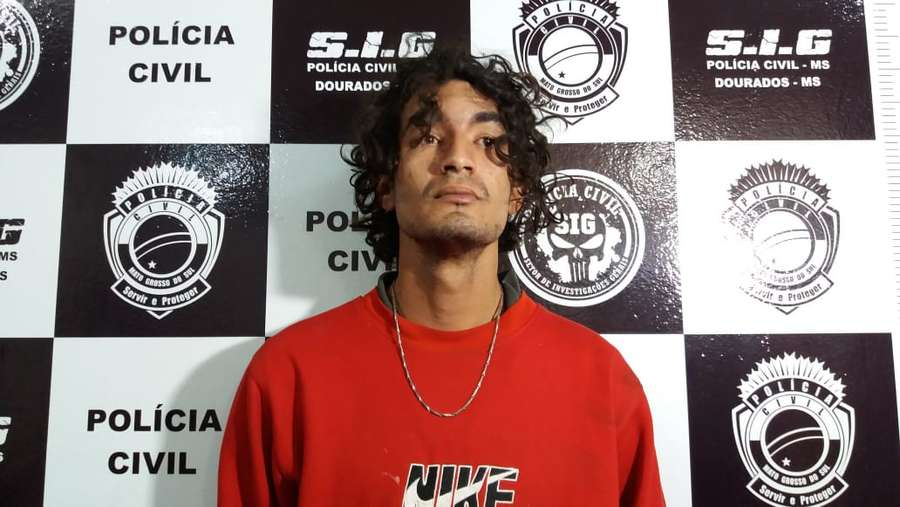 Rodrigo de Souza Martinez foi preso na manhã de hoje pelo SIG (Foto: Sidnei Bronka)