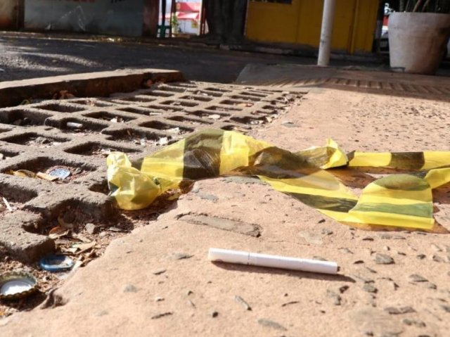 Homem foi morto por discussão por cigarro. - Crédito: Henrique Kawaminami/Campo Grande News