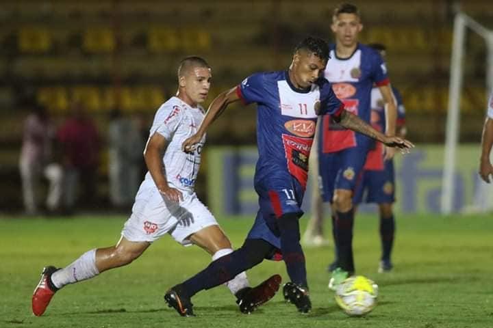 Sete de Dourados perdeu os três jogos na Copinha - Crédito: Noé Faria