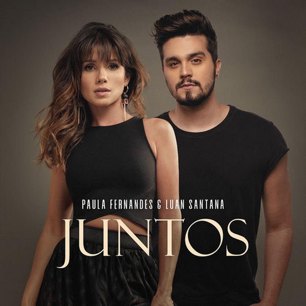 Capa do single 'Juntos', de Paula Fernandes e Luan Santana - Crédito: Divulgação / Universal Music