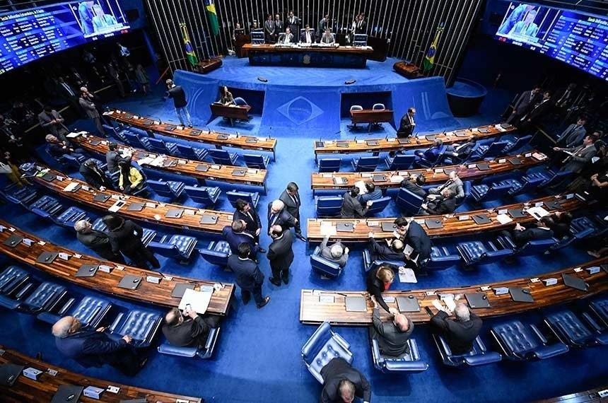 Sessão deliberativa de 6 de junho decidiu que projeto que dá transparência a transações financeiras entre Brasil e outros países será analisado na próxima sessão de votações, no dia 12Edilson Rodrigues/Agência Senado