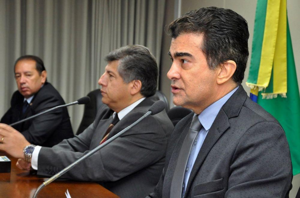 Relator da LDO, deputado Marçal Filho apresentou seis das 8 emendas - Crédito: Luciana Nassar