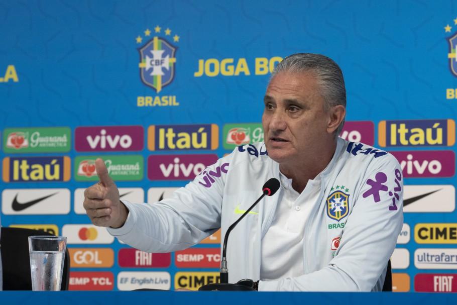 Tite convoca seleção na sexta - Crédito: Lucas Figueiredo/CBF