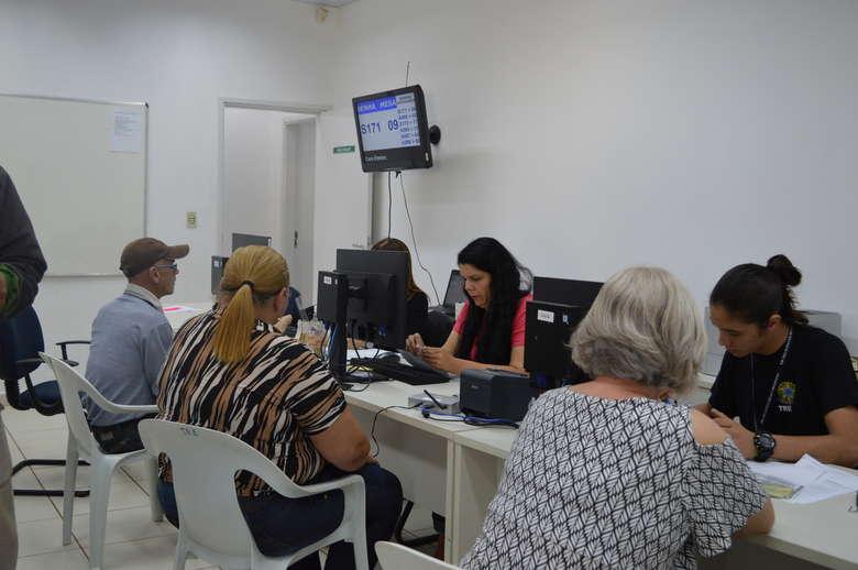 Cartório eleitoral de Dourados segue com cadastramento biométrico - Crédito: Arquivo/Dourados News