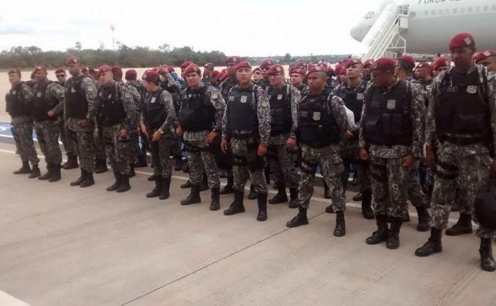 A Força Nacional vai atuar no apoio às ações de fiscalização do ICMBio - FNSP/MJ/Divulgação