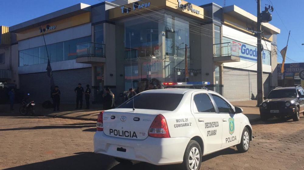 Atentado ocorreu nesta manhã em Pedro Juan - Crédito: Ligado na Redação