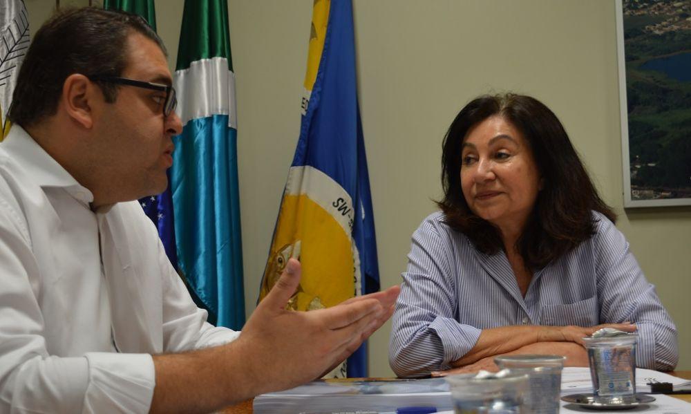 Orçamento de 2020 foi levado à Câmara pela prefeita no dia 14 de outubro - Crédito: André Bento/Arquivo Dourados News