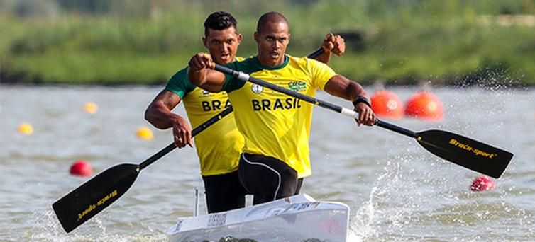 Isaquias Queiroz, Erlon Souza ,canoagem velocidade - Crédito: Divulgação/Planet Canoe