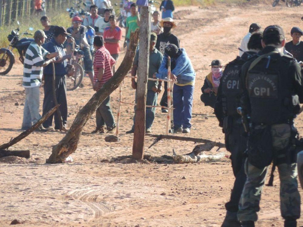 Uma das fazendas citadas na decisão fica em Caarapó, palco de recentes conflitos agrários com morte - Crédito: André Bento/Arquivo