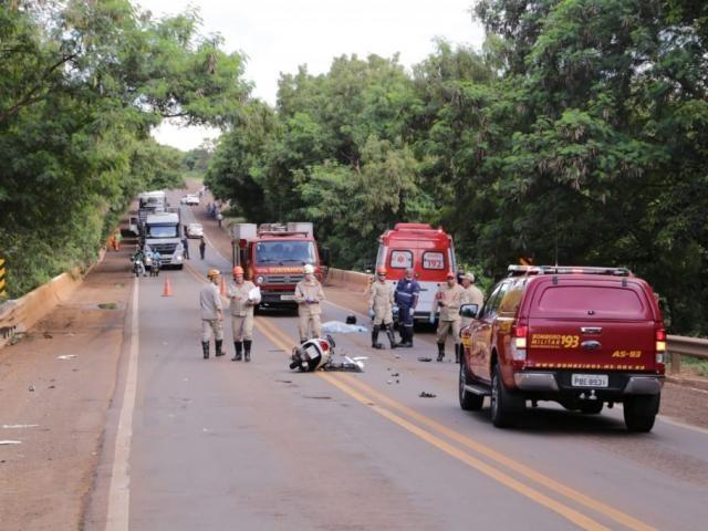 Acidente aconteceu na BR-262, próximo ao Aterro Sanitário - Crédito: (Kisie Ainoã)