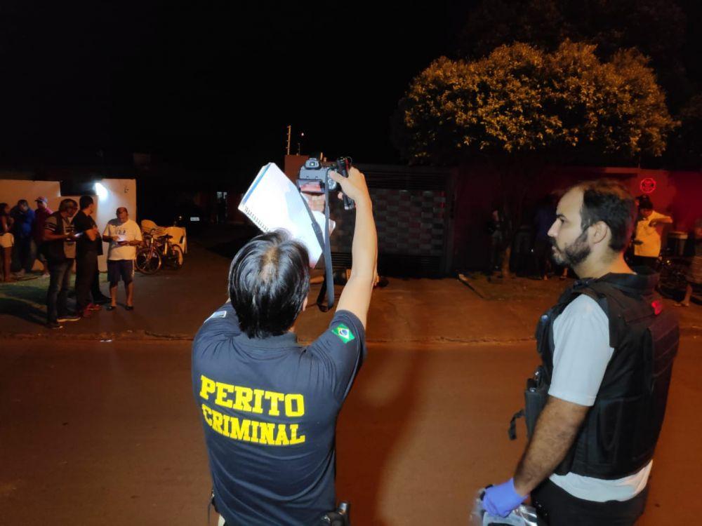 Primeiro homicídio ocorreu na noite de sábado - Crédito: Osvaldo Duarte/Arquiv/Dourados News